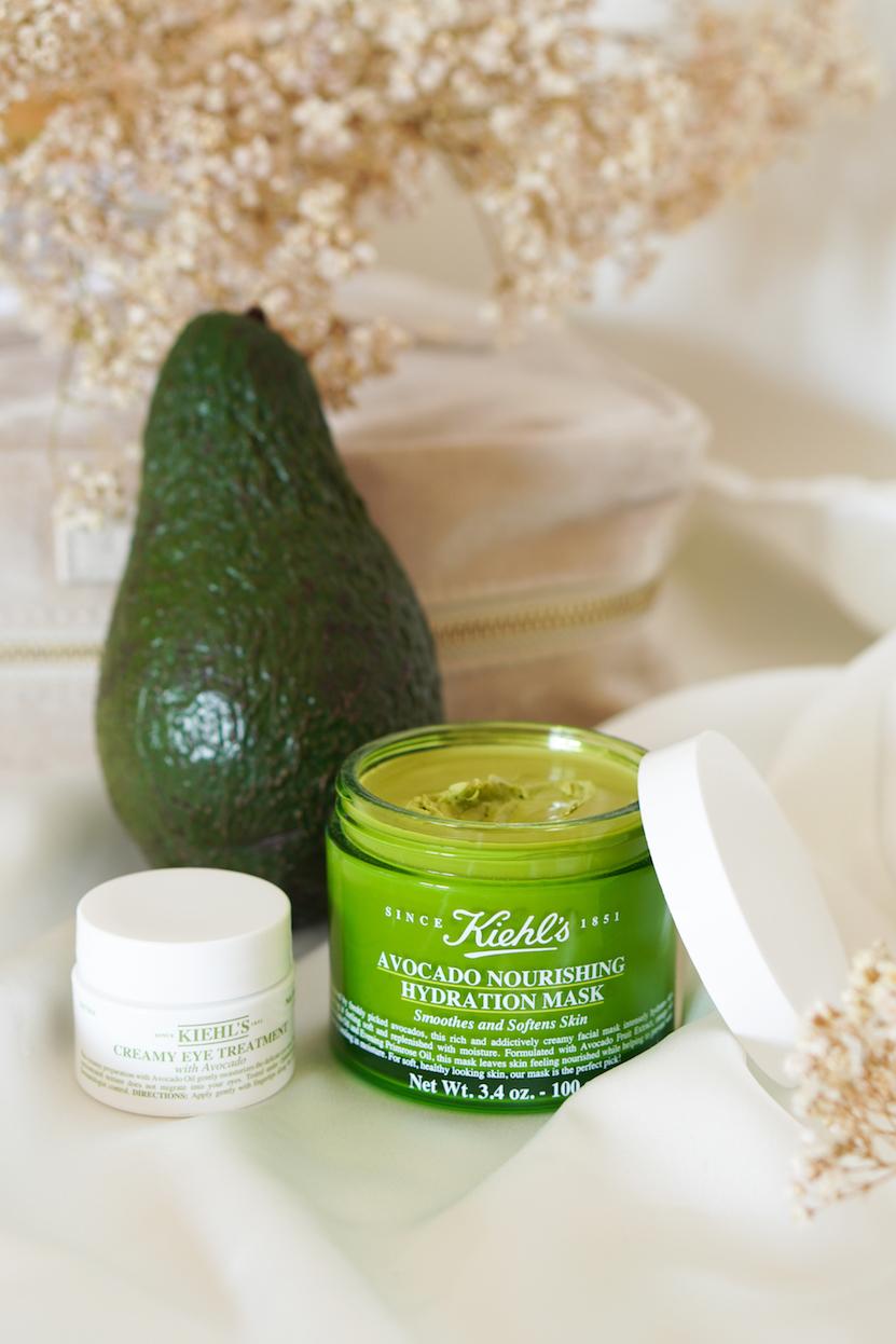 Kiehl's Avocado Nourishing Hydration Mask & Creamy Eye Treatment