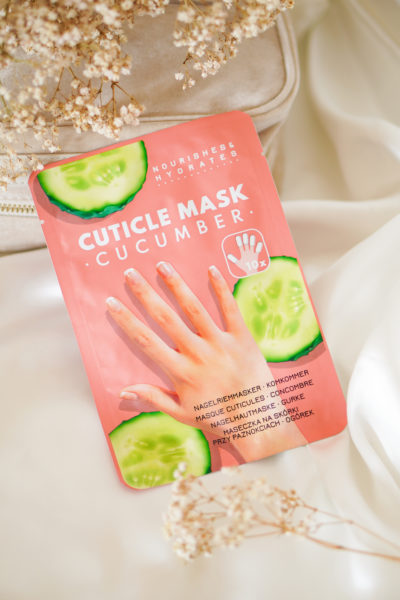 Action nagelriem masker met komkommer