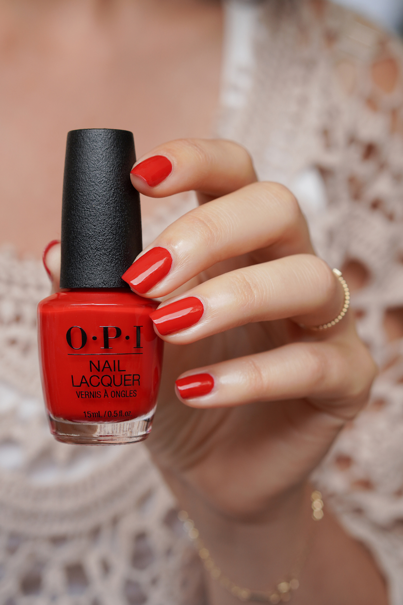 OPI Schotland collection swatches Red Heads Ahead