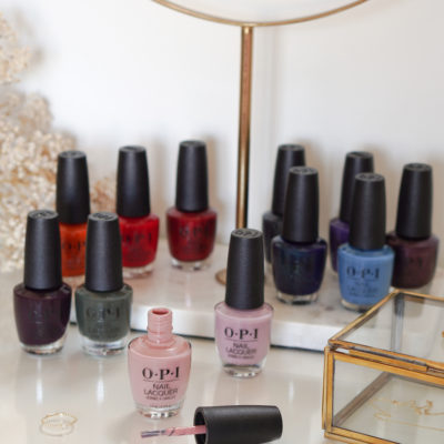 OPI Schotland collection swatches