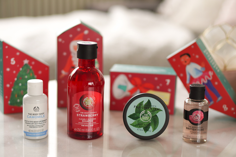 The Body Shop adventskalender 2019 unboxing
