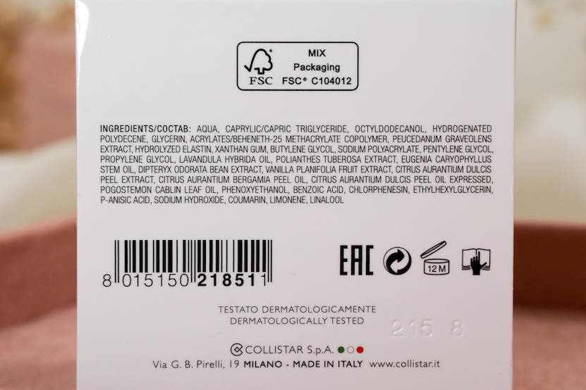 ingredients ELASTIN SILK-CREAManti-age recompacting