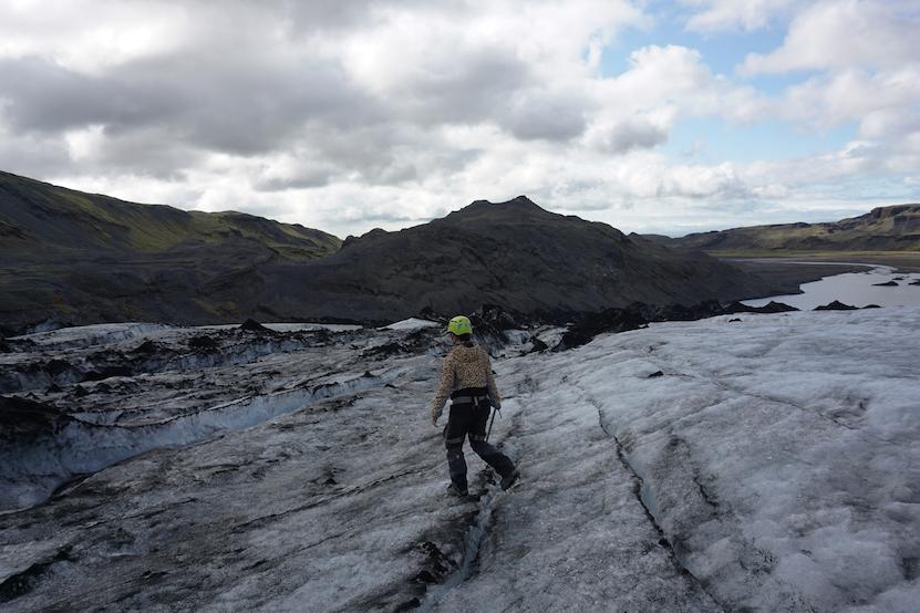 Mýrdalsjökull gletsjer hike