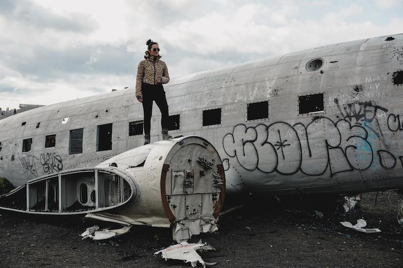 Sólheimasandur vliegtuig wrak