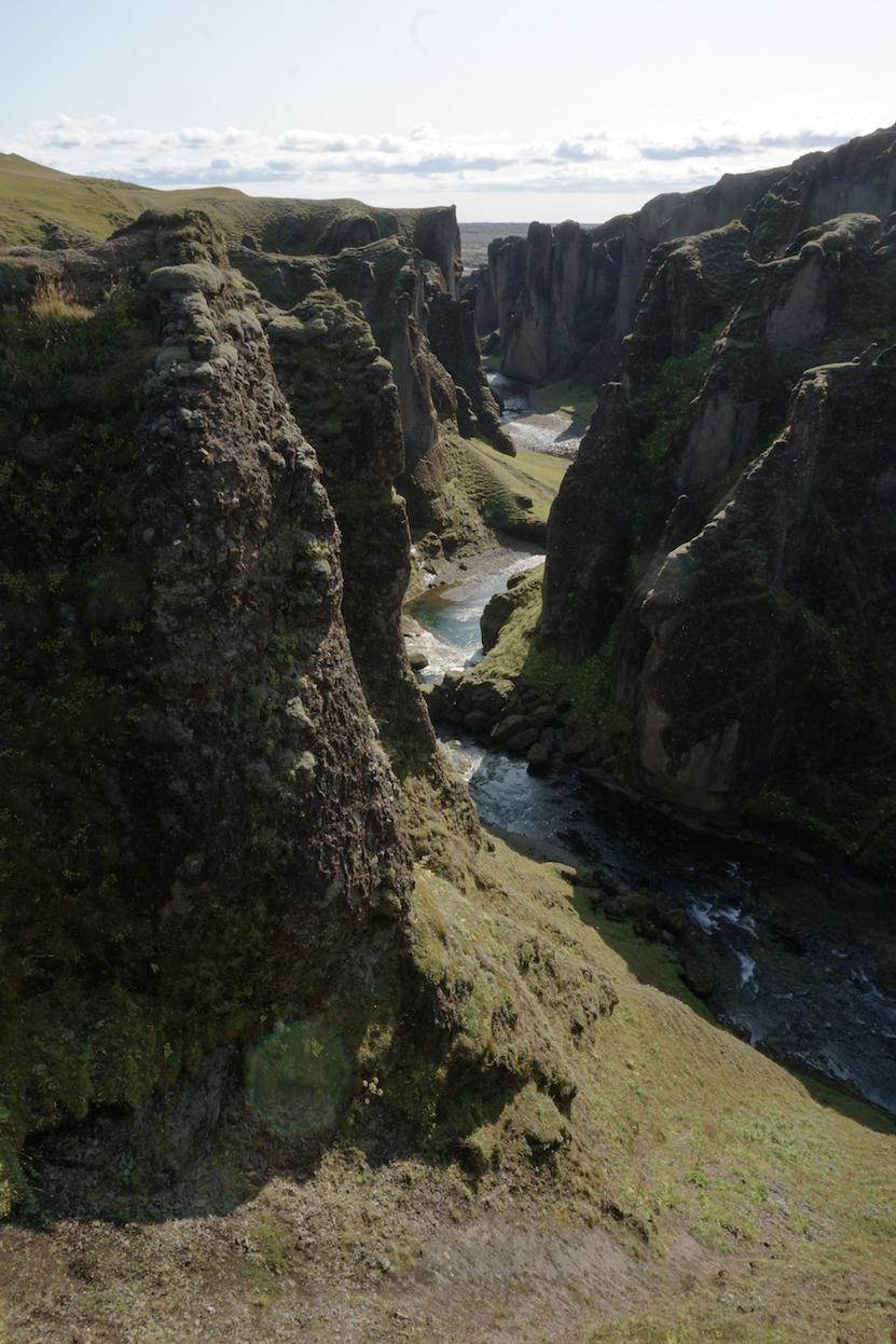 Fjaðrárgljúfur Canyon