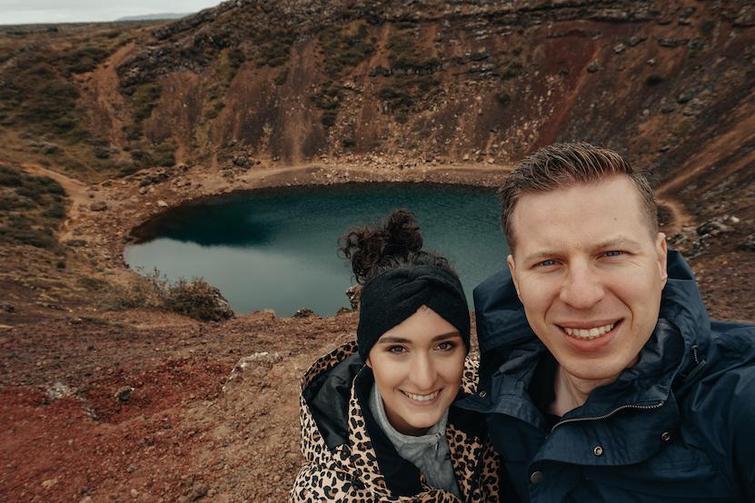 Rondreis IJsland dag 1 t/m 8, reisdagboek Kerið Volcanic Crater iceland