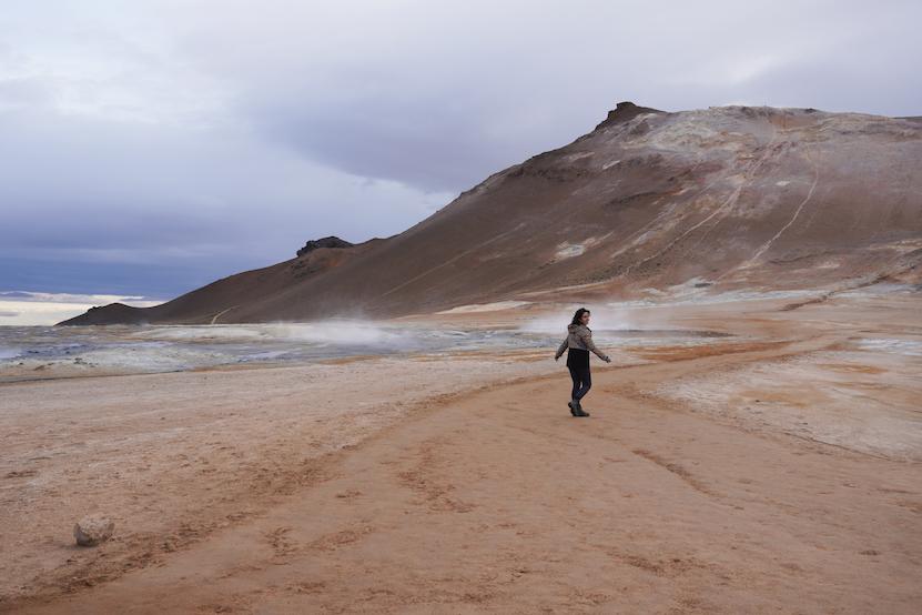 volcanic area Hverarönd Hverir