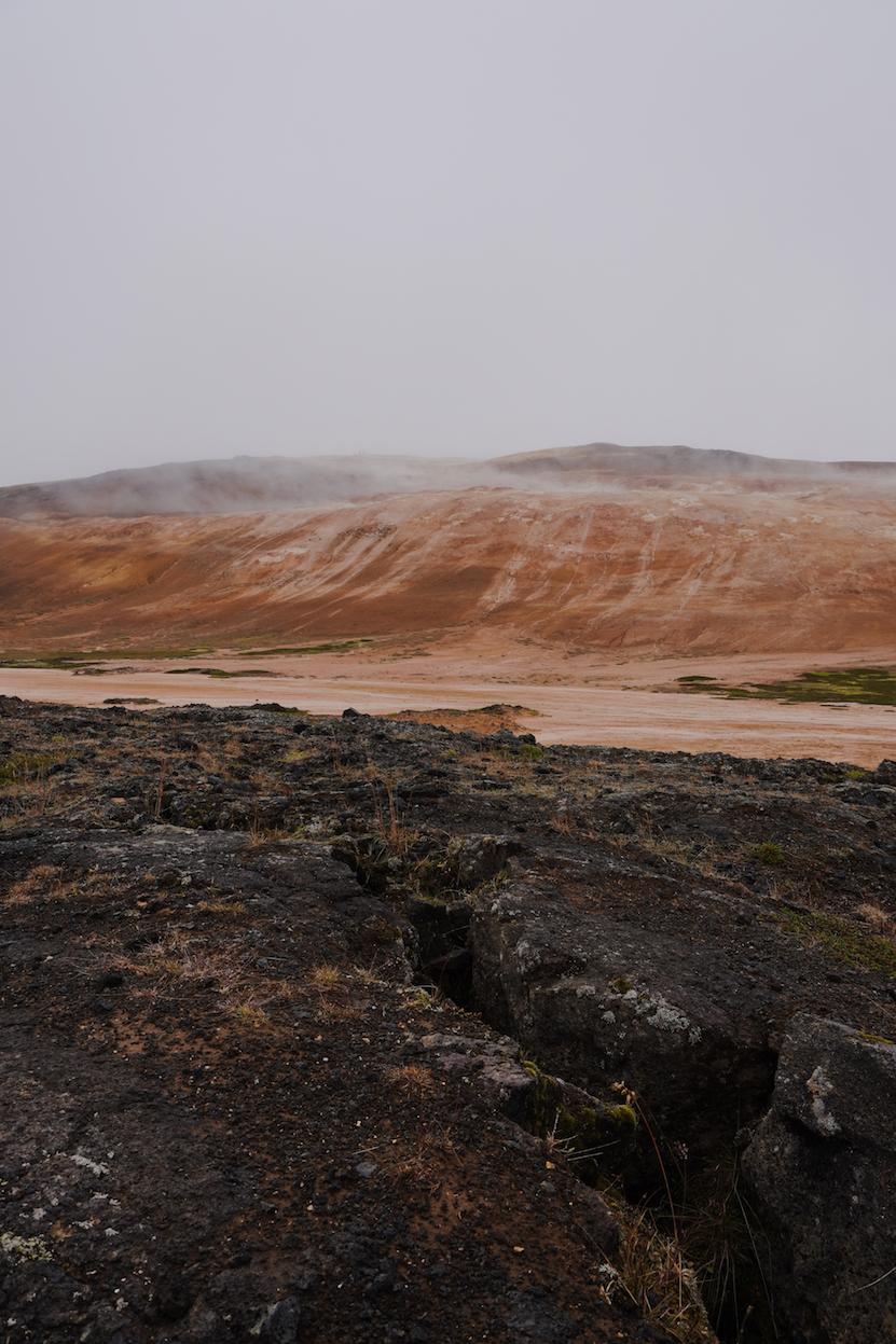 Krafla Lava Fields (Lake Myvatn)