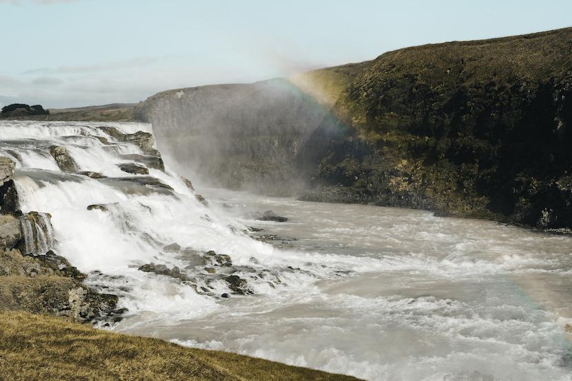 Rondreis IJsland dag 1 t/m 8, reisdagboek Gullfoss Iceland