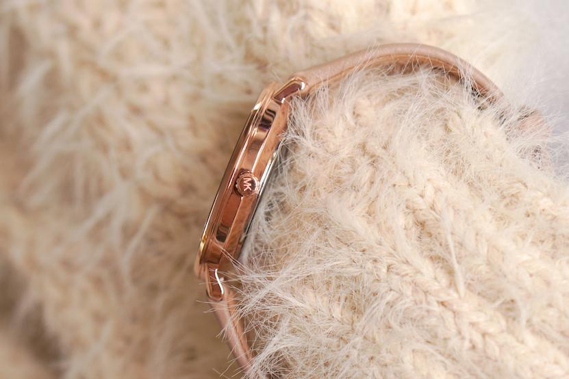 Michael Kors Pyper horloge nude MK2748 review Beautyill