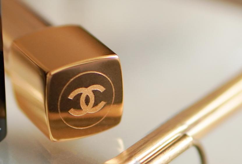 Chanel lipstick logo