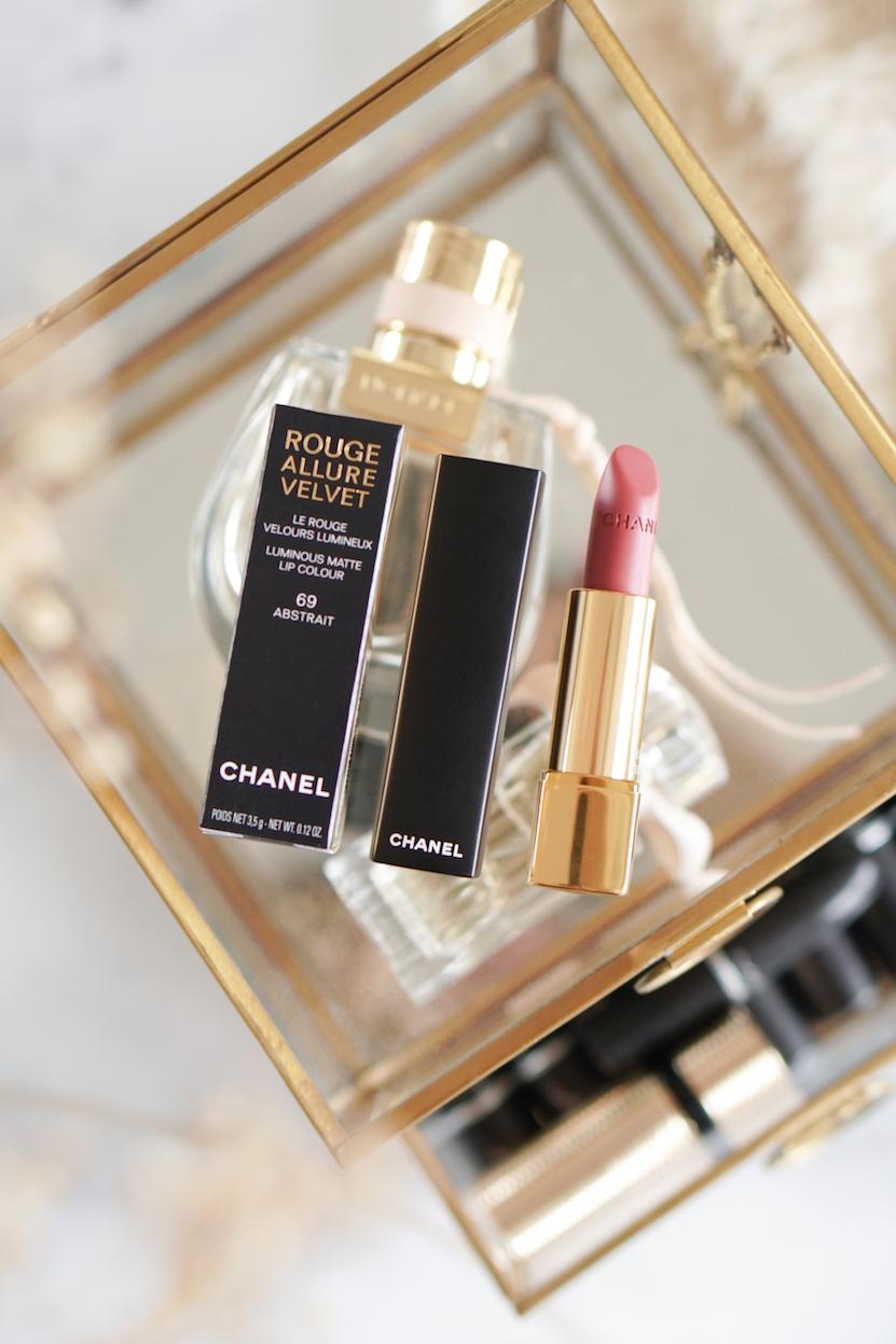 Chanel Rouge Allure Velvet Lipstick 69 Abstrait
