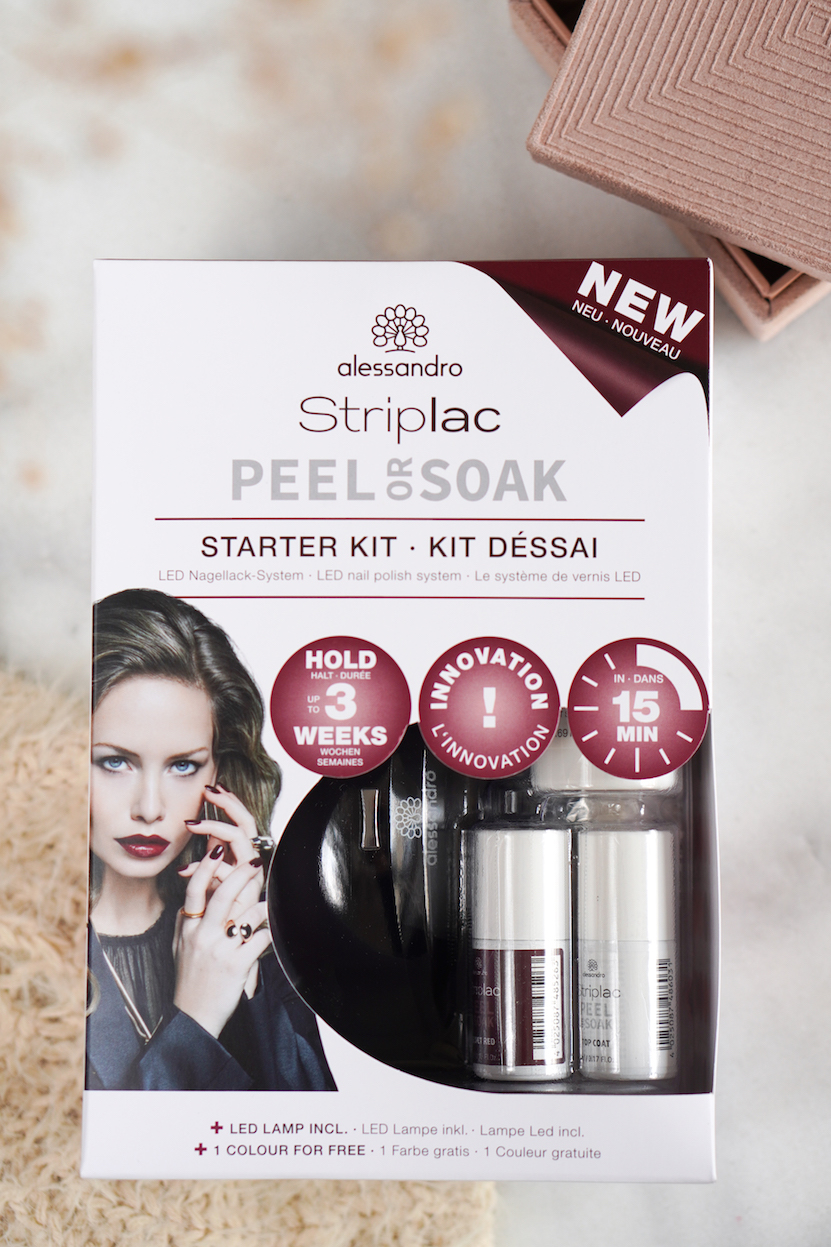 Alessandro Striplac Peel or Soak Starter Kit