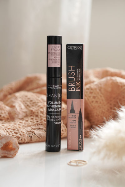 CATRICE CLEAN ID Volume + Lengthening mascara & Brush Ink Tattoo Liner