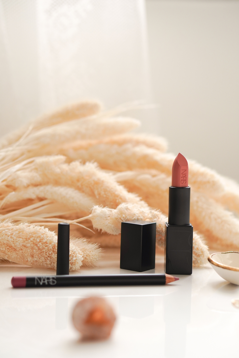 NARS Audacious Lipstick Raquel & Precision Lip Liner Cap-D'Ail