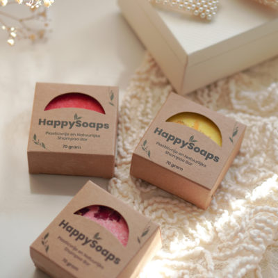 HappySoaps Shampoo Bar