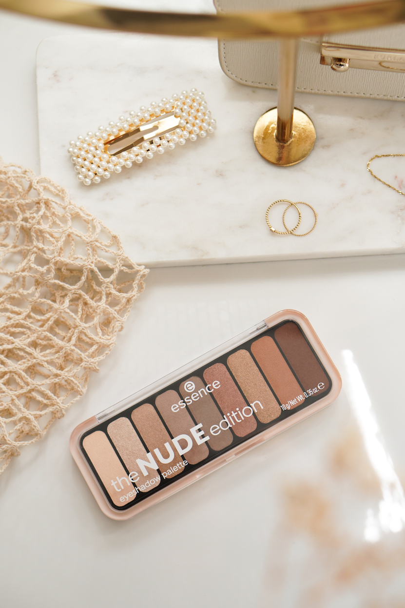essence the nude edition eyeshadow palette