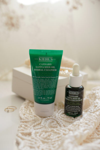 Kiehl's Cannabis Sativa Seed Oil Herbal Concentrate en Cleanser