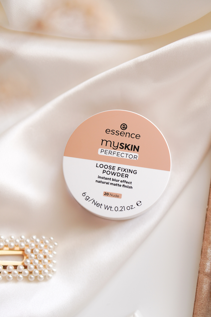 essence myskin perfector loose fixing powder