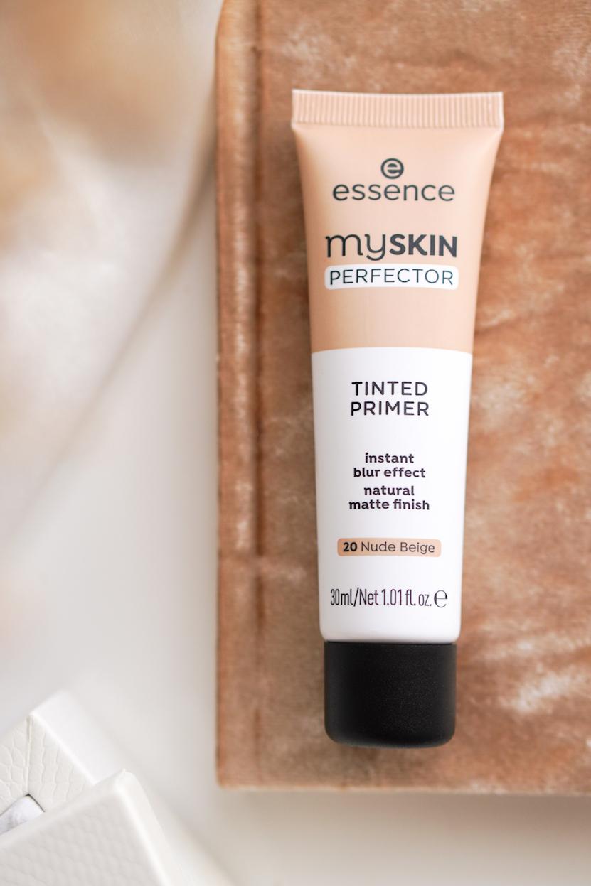 essence myskin perfector loose fixing powder & tinted primer