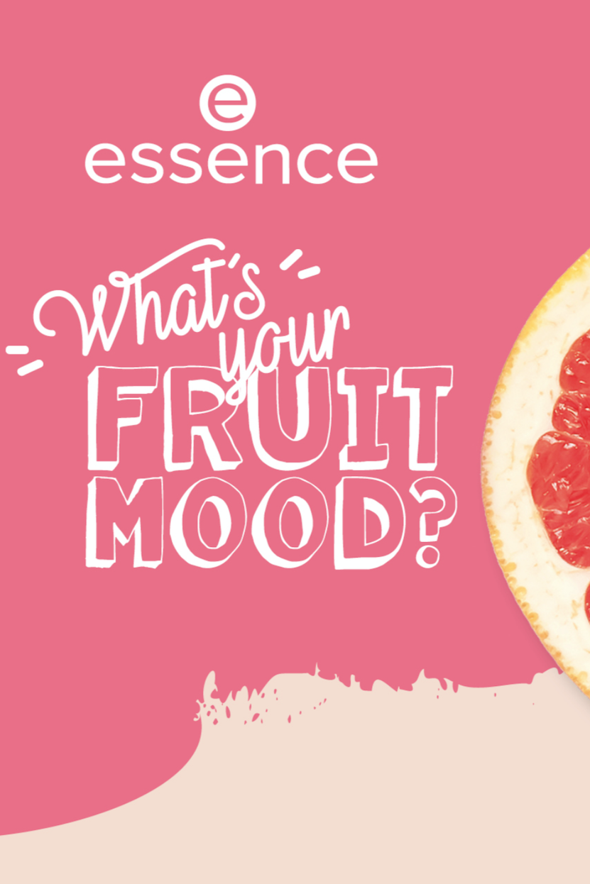 """essence """"What's your FRUIT MOOD?"""" trend edition"""