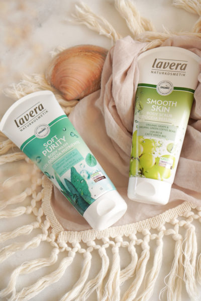 Lavera Soft Purity Body Wash & Smooth Skin Body Scrub