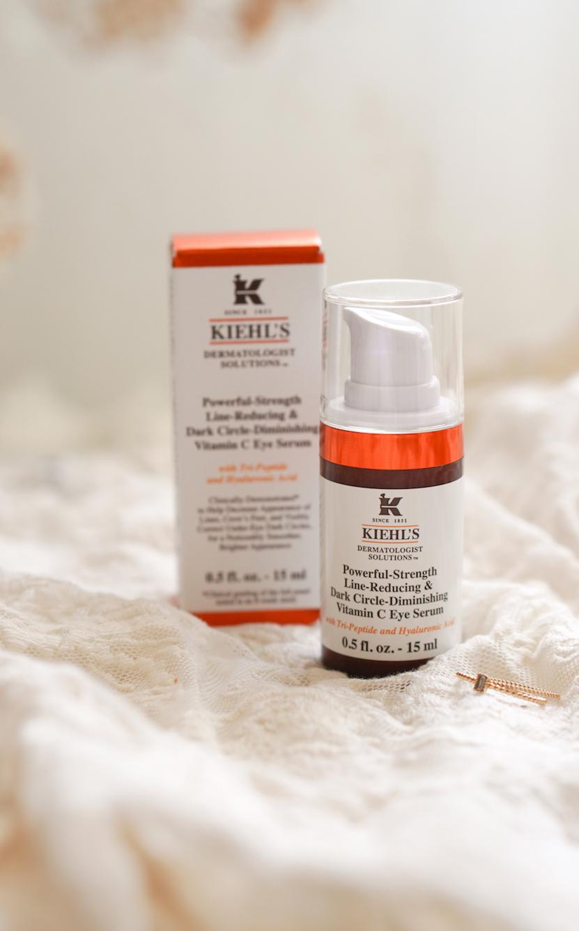 Kiehls Powerful-Strength Line-Reducing Dark Circle-Diminishing Vitamin C Eye Serum