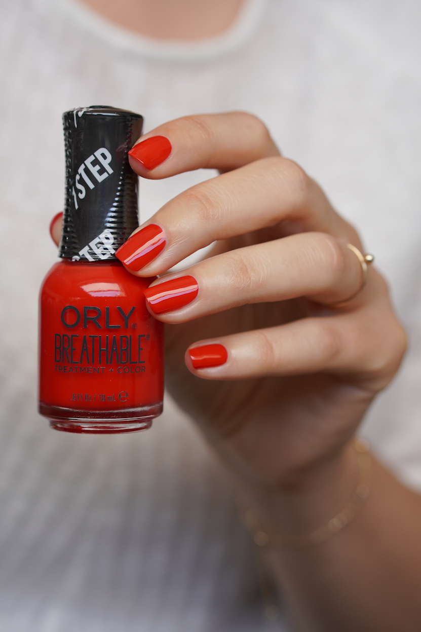 Orly Breathable Cherry Bomb
