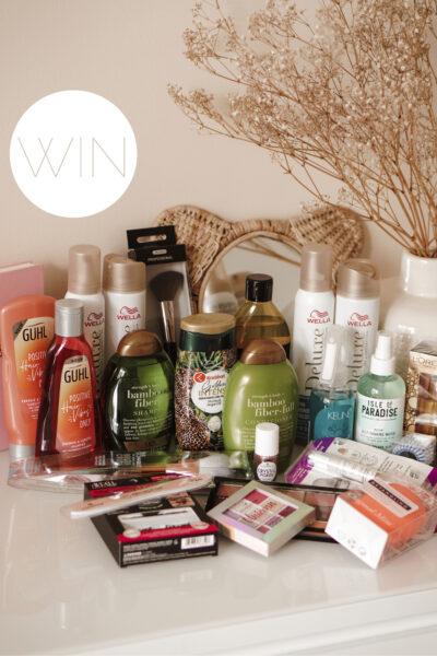 Win een mega beauty pakket t.w.v. €220