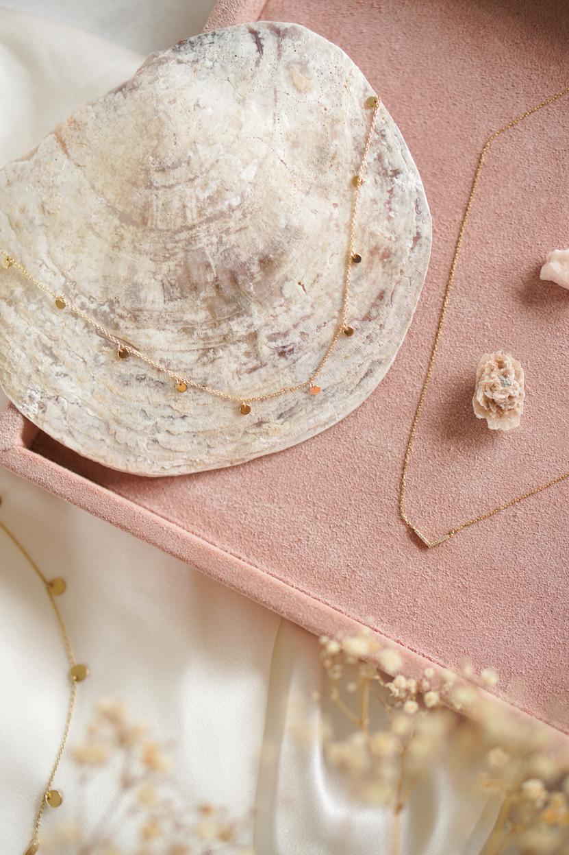 Isabel Bernard 14k gouden minimalistische sieraden