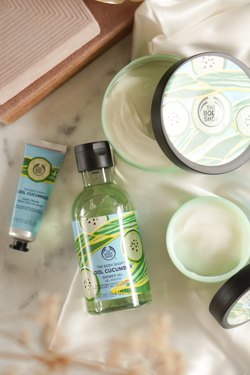 The Body Shop Cool Cucumber & Zesty Lemon