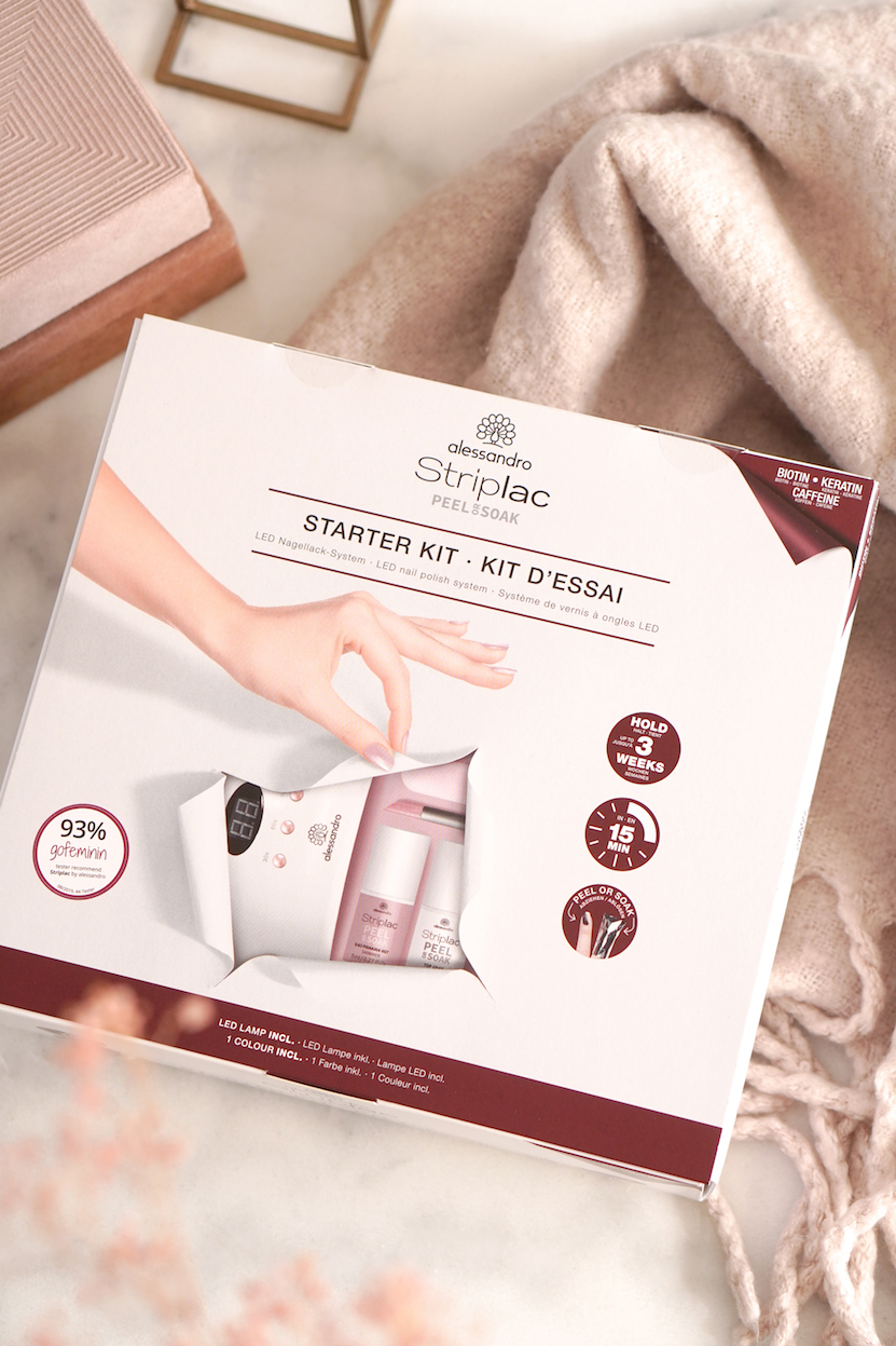 nieuwe alessandro Striplac Peel or Soak Starter Kit