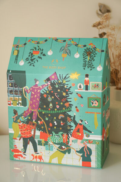 The Body Shop adventskalender 2020 unboxing