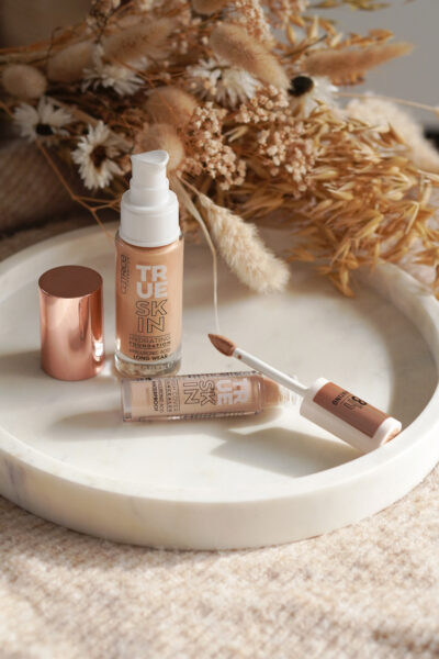 CATRICE True Skin foundation & concealer