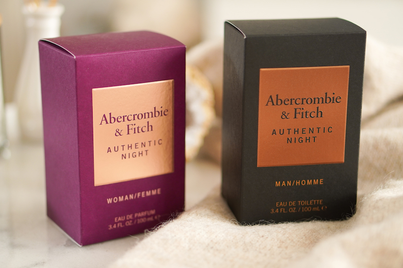 Abercrombie & Fitch Authentic Night woman & man