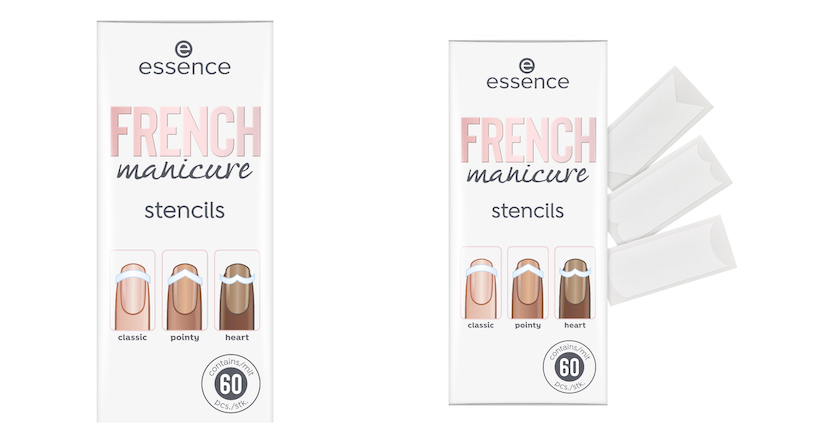 essence French Manicure Stencils