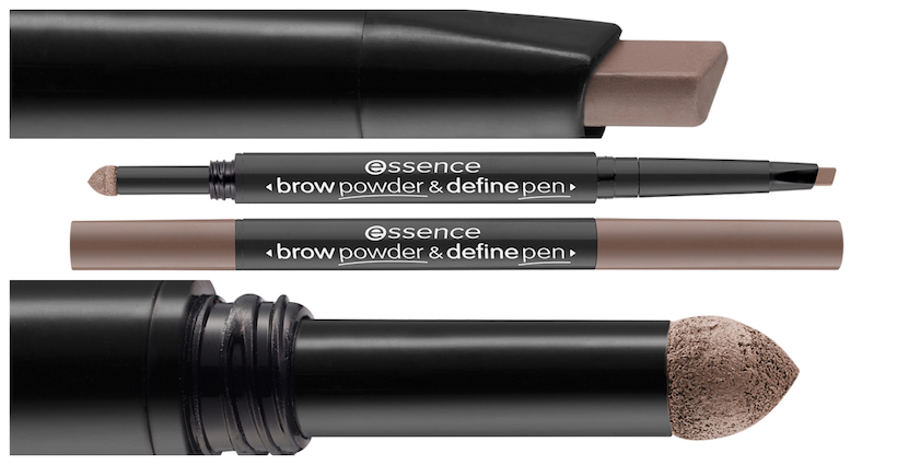 essence BROW POWDER & DEFINE PEN
