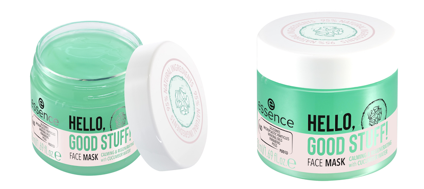 essence HELLO, GOOD STUFF! FACE MASK