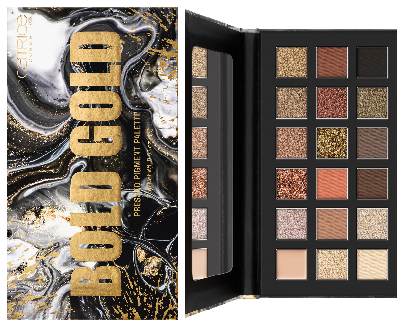 NUDE PEONY & BOLD GOLDPRESSED PIGMENT PALETTE