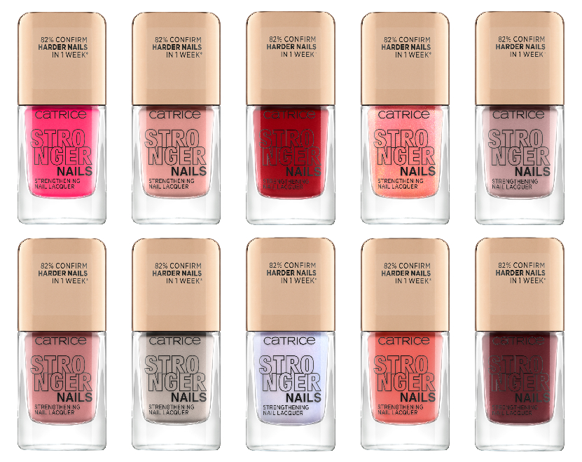 STRONGER NAILS STRENGTHENINGNAIL LACQUER