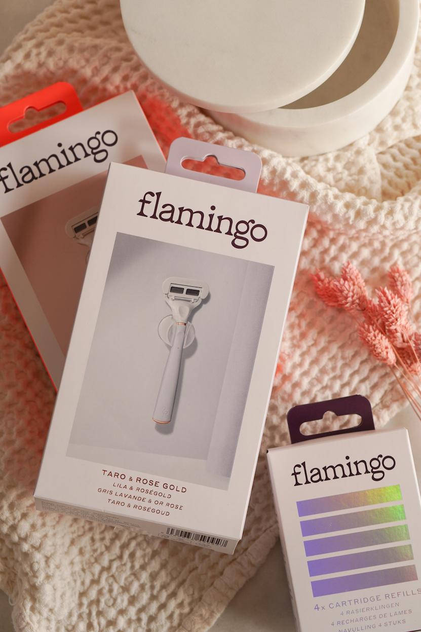Flamingo scheermesjes