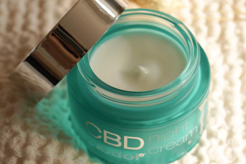 cbd cibdol night cream