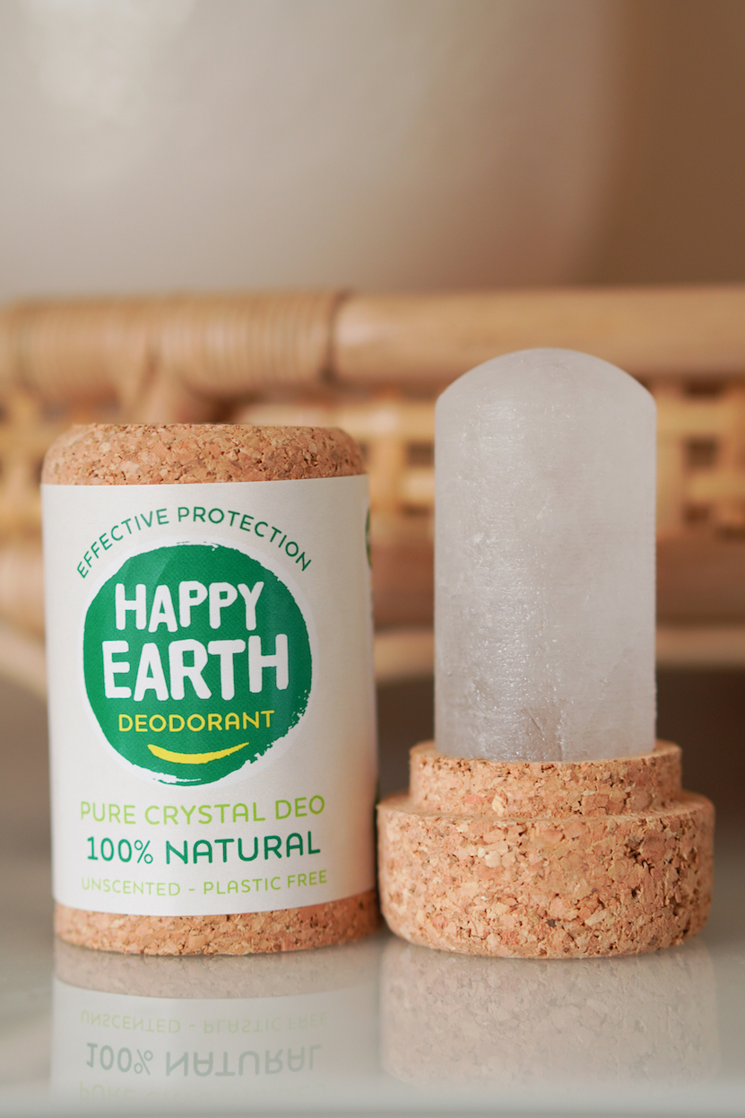 HAPPY EARTH deodorant showergel en handzeep