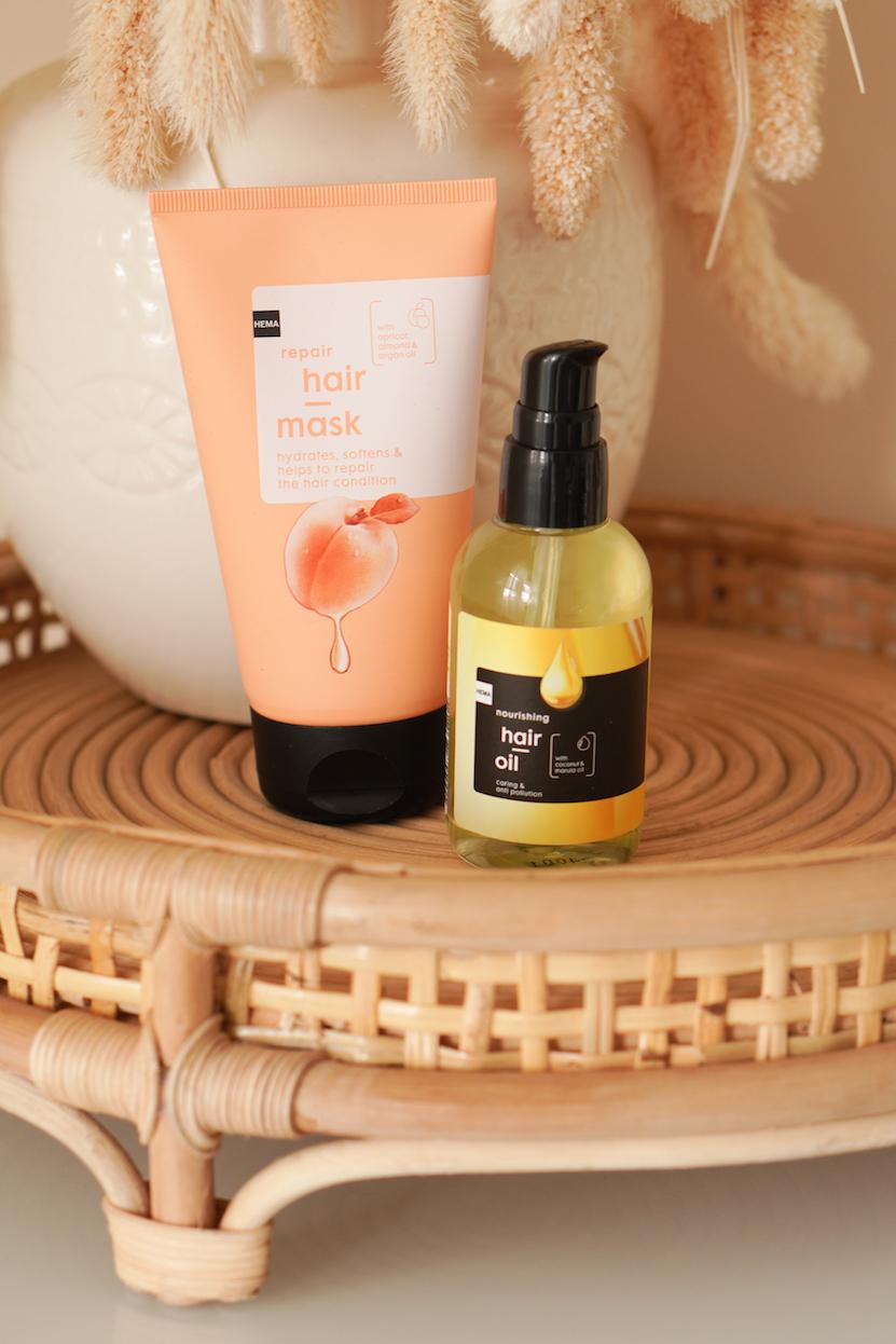 HEMA Repair Hair Mask & Nourishing Hair Oil