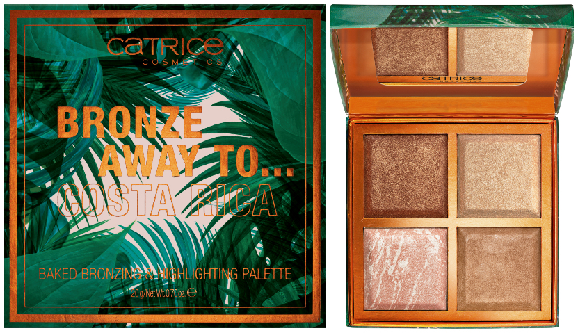 CATRICE Limited Edition Bronze Away To... highlighting palette