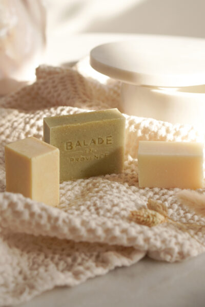 Balade en Provence night cream, face cleanser en shave soap