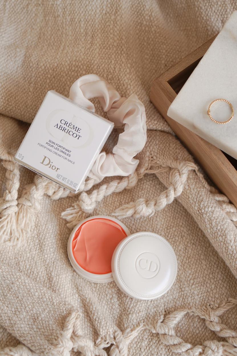 DIOR crème abricot nagelcrème
