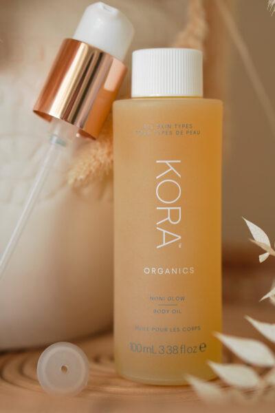 KORA Organics Noni Glow & Milky Mushroom  gentle cleansing oil