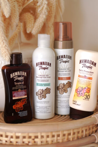 Hawaiian Tropic zelfbruiner & zonbescherming