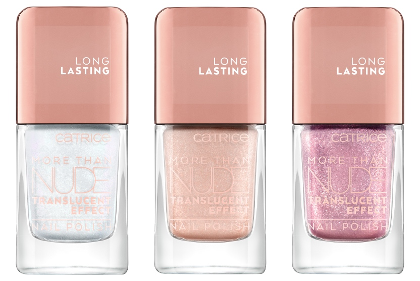 catrice MORE THAN NUDE TRANSLUCENT EFFECT NAIL POLISH